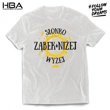 T-shirt Słonko wyżej - ząbek niżej