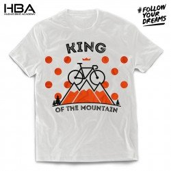 T-shirt King of the mountain