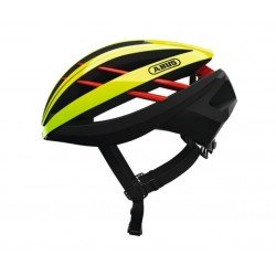 Abus Aventor neon yellow L