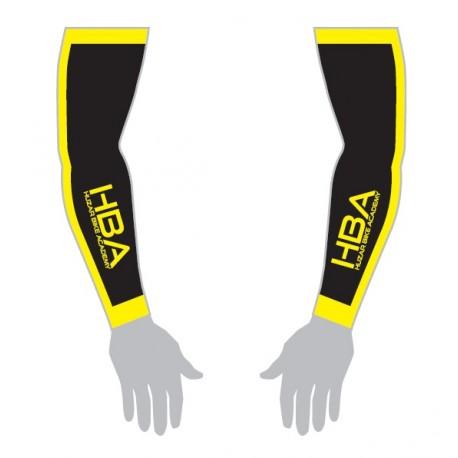 Rękawki HBA czarny/fluo