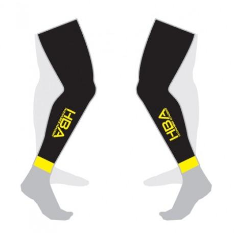 Nogawki HBA czarny/fluo